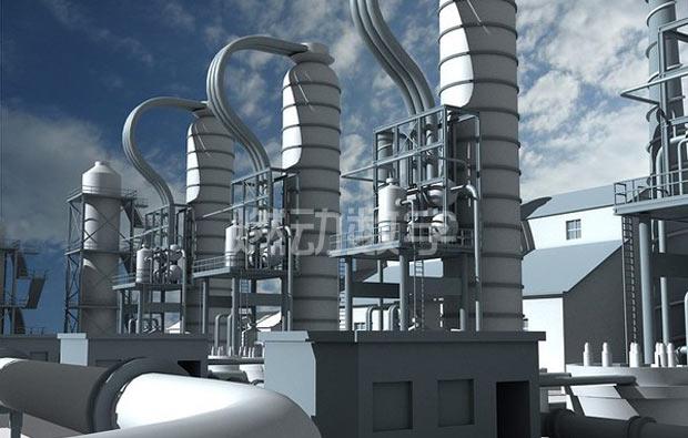 化工机械设备三维动画