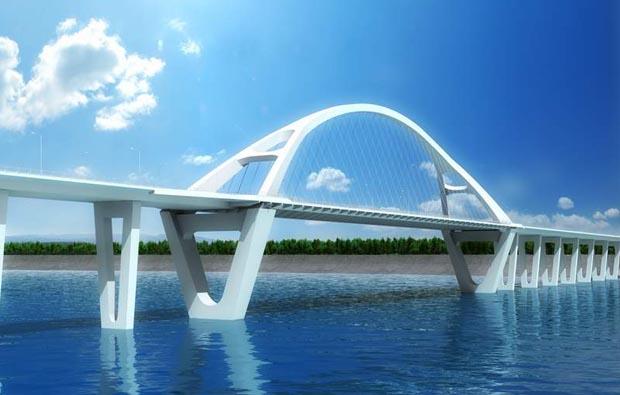 桥梁工程施工三维动画
