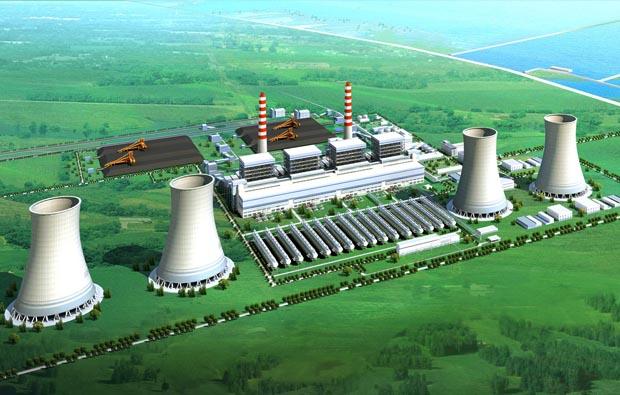 发电厂建设施工三维动