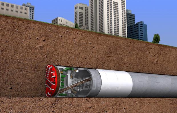 隧桥工程施工三维动画