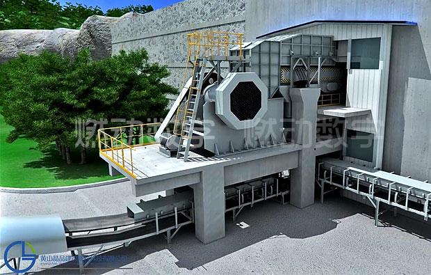 矿山设备非标一体化机械三维解析动画制作