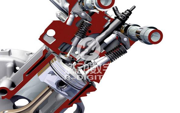 工业机械三维演示动画
