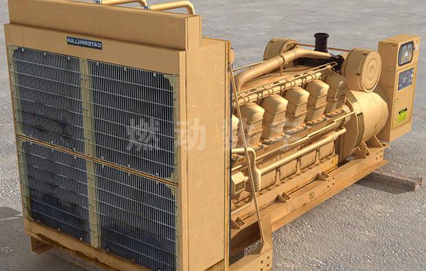 柴油发电机三维动画仿
