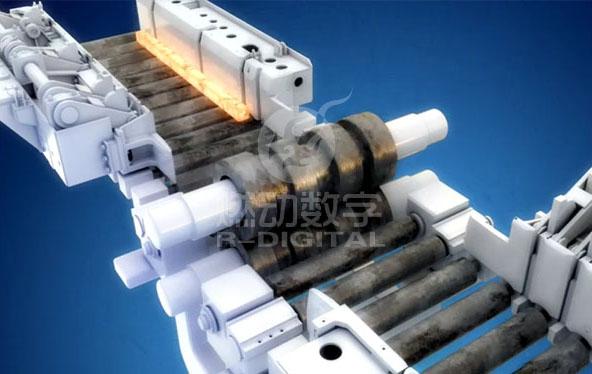 钢管生产工艺流程三维