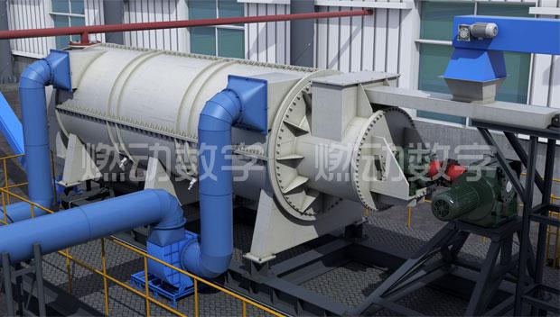 固废热解气化工艺流程